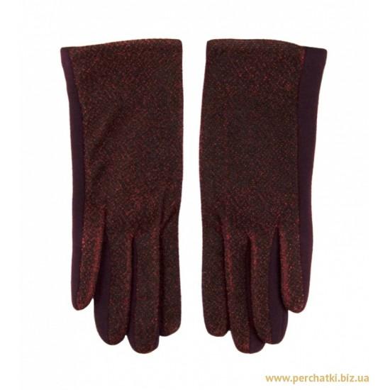 Перчатки женские хлопок, подкладка плюш