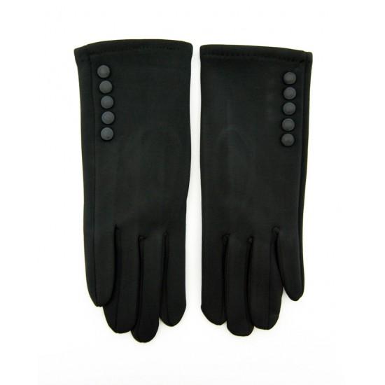 Перчатки женские эластик, подкладка плюш